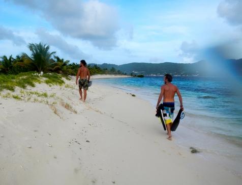 Snorkling sur Sandy Island